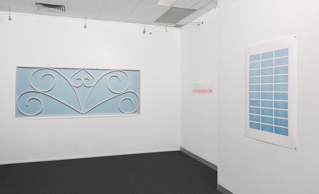 2. Stephanie Jones 2017 exhibition view 2